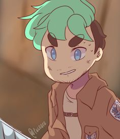 pacaora: It's been awhile since I last posted something XD  Anyways, here's a combo of my favourite youtuber with one my favourite animes! :D  AOT ALL THE WAY >:D therealjacksepticeye: I wonder how long i'd survive against the titans? haha