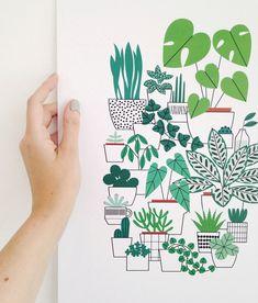 Les illustrations simples et naturelles de Sarah Abbott | Partfaliaz