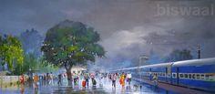 #ArtOfTheWeek - Artist Bijay Biswaal's latest #WetPlatform in a wider frame…