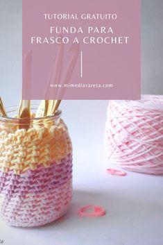 Diffuser, Perfume Bottles, Crochet Patterns, Knitting, Creative, Ideas, Easy Crochet, Patterns, Jars