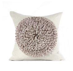 Daniel Stuart Studio - Gallery - Dahlia Pillow - Churchill Linen Dahlia Pillow col: Pewter / Flax