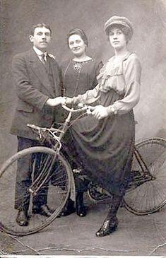 old bike photo