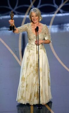 We're looking back on a decade of outstanding Oscar gowns! And the Academy Award for Best Dressed Actress goes to...: Helen Mirren