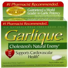 GARLIQUE TABS 60 >>> You can get additional details at the image link. (This is an affiliate link and I receive a commission for the sales)