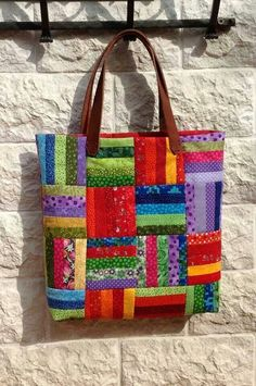 Most current No Cost sewing bags patchwork Ideas Bag - Patchwork - Bag Sewing Pattern, Bag Patterns To Sew, Sewing Patterns, Quilt Patterns, Quilted Purse Patterns, Patchwork Patterns, Wallet Pattern, Tote Pattern, Quilted Tote Bags