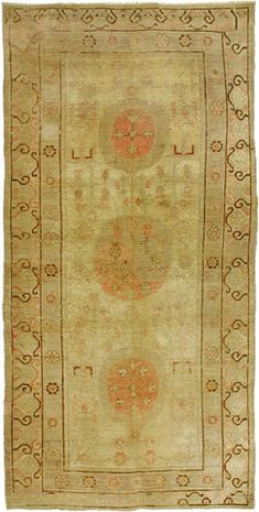 light colored rug