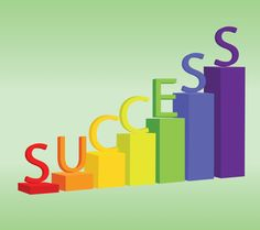 Success only happens if you try!  great wallpaper for your office desktop