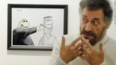 Initially, Ferzats cartoons depicted nameless people. Over time, he started drawing identifiable images of Syrian leaders to mock them directly.