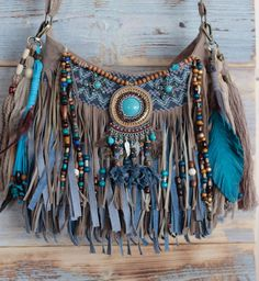 New fringe purse! Boho bag fringe bag hippie purse gypsy purse festival bag - Best DIY and Crafts 2019 Boho Hippie, Hippie Purse, Hippie Bags, Boho Bags, Hippie Style, Bohemian Bag, Bohemian Fashion, Boho Chic, Fringe Purse