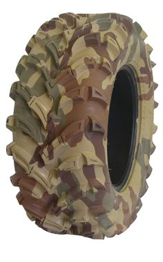 camouflage tire
