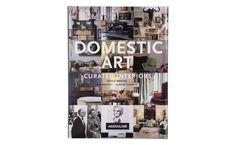 Domestic Art: Curated Interiors leads the reader on a tour through inspiring and individualistic interiors, from a 500 square foot studio to a Philip Johnson architectural wonder.  Thirty-five projects in all document nearly a decade of smartly styled interiors from the pages of PaperCity magazine.  In this book, a designer builds her dream home – cantilevered over an earthquake fault.  A gallery owner brings a circa 1880's house back from the brink of decay.  The designs range from follies…