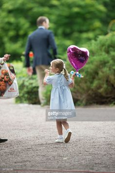 Princess Estelle of Sweden arrives for Birthday celebrations of Crown Princess Victoria of Sweden at Solliden Palace on July 14, 2016 in Oland, Sweden.