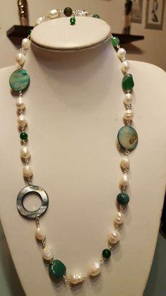 perla e madreperla di pearlandpreciousgems su Etsy