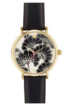 Kate Spade metro patterned watch