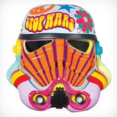 Damien Hirst, David Bailey, D*Face and Yinka Shonibare are among a select squad of artists who have transformed a helmet from Andrew Ainsworth, original prop maker on Star Wars: A New Hope and designer of the now iconic stormtrooper uniforms...