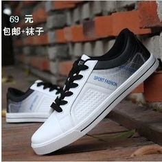 1f4186c51d5b 2015 Autumn Korean version of the popular trend of casual Men s Shoes youth  of England breathable