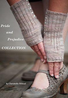 Ravelry: ChristalLittleK's Pride and Prejudice Mittens