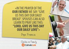 Some of the greatest quotes on the family come from the Popes. Are you familiar with this list of the top 10 quotes about family life? Catholic Marriage, Catholic Quotes, Catholic Prayers, Christian Marriage, Roman Catholic, Pope Quotes, Pope Francis Quotes, Prayers To Mary, Simple Prayers