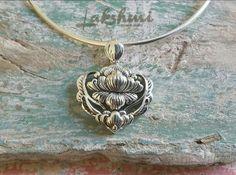 Pingente flor de lótus, Lakshmi estilo de viver, peça exclusiva, maxi pingente (2)