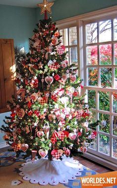 Идеи для украшения елки. Декоративный дизайн фото 20