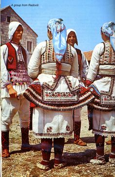 FolkCostume&Embroidery: Overview of the Folk Costumes of Europe, Macedonia