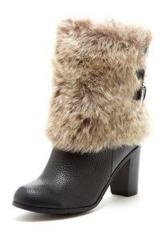 PA by Pilar Abril  Linda Faux Fur Boot