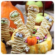 Biscoitinhos de Múmia - Receita de Halloween