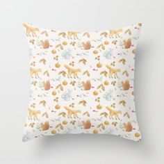 Buy AutumnPattern3 Throw Pillow by ekkoprintables. Worldwide shipping available at Society6.com. Just one of millions of high quality products available. #autumncushion #autumn #autumndecor #nursery #nurseryautumn #fall #fallnursery #woodlandnursery Couch Pillows, Down Pillows, Cushions, Woodland Nursery, Designer Throw Pillows, Pillow Design, Pillow Inserts, Fall Decor, Autumn