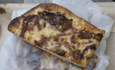 Daily Slice: Caramelized Onion-Gruyere Pizza at Levain Bakery, NYC ...