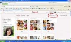 Sew Many Ways...: Pinterest Help...How to Pin and Repin