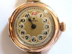 時計 1917 1920アンティークROLEXロレックステレフォンダイヤル ¥189800円 〆03月04日