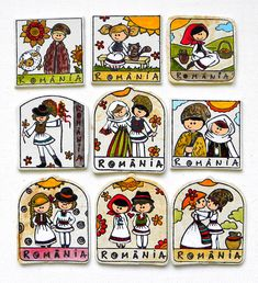 Magneti Romania   festART Romania, Playing Cards, Playing Card Games, Game Cards, Playing Card