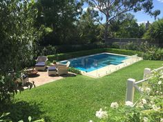 Gorgeous Autumn Saturday afternoon #bminteriors #bminteriorsrenovation #pools #landscape #outdoorspaces #lawn #firepit #garden #sydney #gumtree #whiteroses #buxus #exterior #relaxing #light #home #landscape_lovers