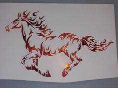Ford Mustang decals with a silhouette of the iconic, feral horse in full gallop embody a national obsession for a car not too different from its four-legged predecessor. Description from ebay.com. I searched for this on bing.com/images