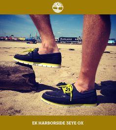 O sapato EK Harborside 3eye Ox tem o forro interno feito com 100% de garrafas PET recicladas, o que garante mais respiração e conforto para os seus pés nesse verão. Curtiu? #Timberland_br #Earthkeepers