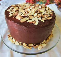 Vegan Mocha Almond Layer Cake   Fragrant Vanilla Cake