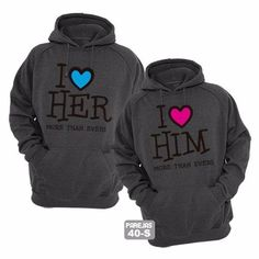 Discover recipes, home ideas, style inspiration and other ideas to try. Boyfriend And Girlfriend Hoodies, Cute Boyfriend Gifts, Matching Couple Outfits, Matching Couples, Couple Jacket, Couple Pajamas, Matching Hoodies, Disney World Shirts, Custom Made T Shirts