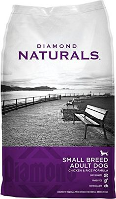 Diamond Naturals Dry Food for Adult Dogs Small Breed Chicken and Rice Formula 18 Pound Bag ** Check out this great product.Note:It is affiliate link to Amazon.