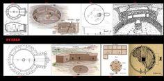 Nel periodo Anasazi, i kiva, erano a pianta circolare, sotterranei o semi-sotterranei. La forma circolare, in contrasto con le forme quadrangolari delle abitazioni, sta probabilmente ad indicare la sacralità del luogo, oppure può essere messa in relazione con le pit-house, del primo periodo della cultura Anasazi. Nel pavimento del Kiva veniva realizzato un piccolo foro (sípapu) che stava ad indicare il luogo simbolico di origine dell'umanità.