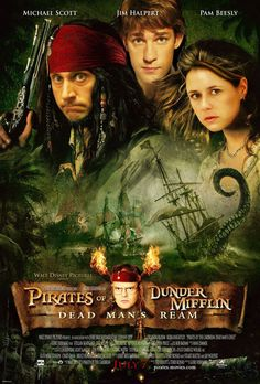 Pirates of Dunder Mifflin. Saw this years ago..always makes me smile. :)