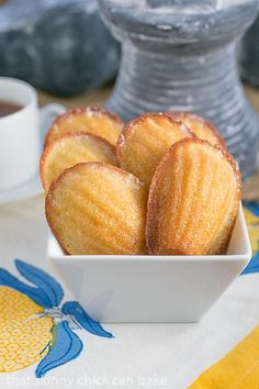 Lemon Madeleines | A perfect, citrusy tea cake from Dorie Greenspan