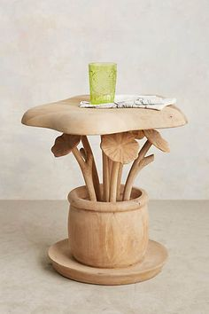 Toadstool Side Table