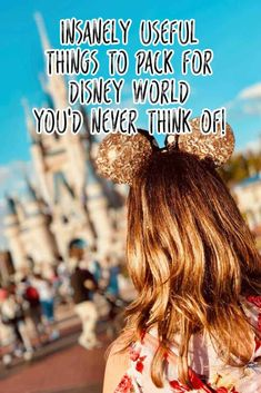 Dont leave for vacation without reading this Disney World packing list. Its the ultimate list of useful things you will need in Orlando and the Disney World parks! - Travel Orlando - Ideas of Travel Orlando Packing List For Disney, Disney World Packing, Disney World Vacation Planning, Disney World Parks, Walt Disney World Vacations, Disney Planning, Disneyland Trip, Disney Bound, Disney Souvenirs