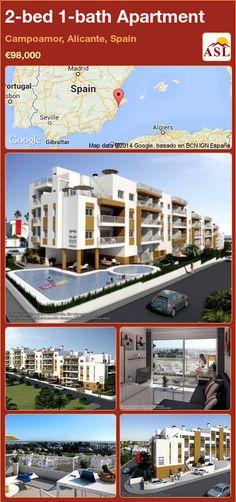 2-bed 1-bath Apartment in Campoamor, Alicante, Spain ►€98,000 #PropertyForSaleInSpain