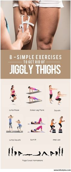 Simple Exercises To Get Rid Of Jiggly Thighs Fitness Inspiration and Fitness Motivation -Fitness Inspiration and Fitness Motivation - Fitness Workouts, Gewichtsverlust Motivation, Easy Workouts, Fitness Tips, Workout Routines, Exercise Workouts, Dumbbell Workout, Side Fat Workout, Free Workout