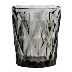 This beautiful smokey coloured cut glass diamond drinking glass would add a stylish touch to any dining Cut Glass, Glass Vase, Lava, Flute Champagne, Home Decoracion, Drinking Glass, Diamond Cuts, Smoke, Wine