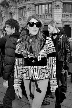 Milan Fashion Week, Women Fall Winter 2011/2012. Moda Donna, Autunno Inverno 2011/2012. Sfilata GUCCI. Nella foto: Anna dello Russo     awesome! repin pls!