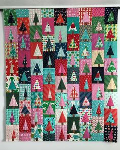 This idea by @diaryofaquilter is genius and so fun to just slice and sew.