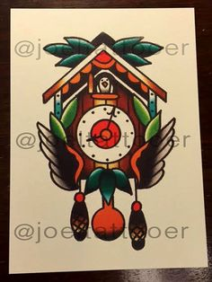 Mini Print Cuckoo Clock by JoelJaniszynHandmade on Etsy