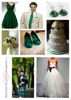 Emerald Green Wedding Colors